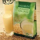 susu kedelai organik melilea